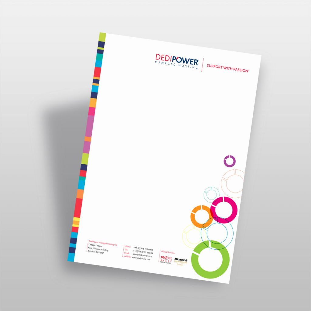 4-Color Letterhead