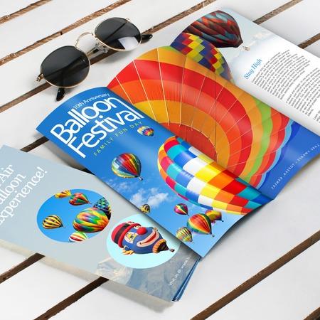 100lb Text Brochures